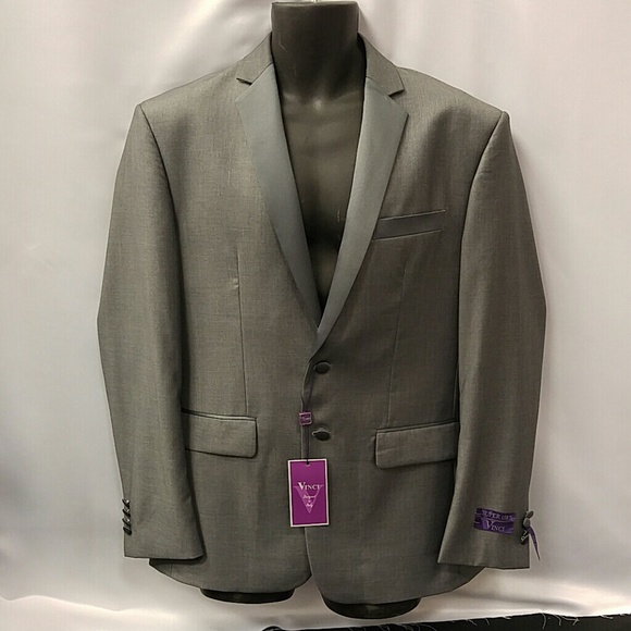 947c9afda VINCI MENS SINGLE BREAST 2 BUTTON SLIM FIT TUXEDO Boutique